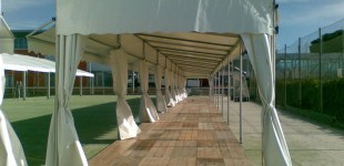 Stands y marquesinasStands i marquesinesStands and marquees