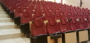 Auditorio en el  Gremio  de Instaladores de GeronaAuditori al Gremi d'Instal.ladors de GironaAudience in the Installers' Union of Gerona