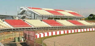 Tribunas Circuit de Catalunya Tribunes Circuit de Catalunya Grandstands in Circuit de Catalunya